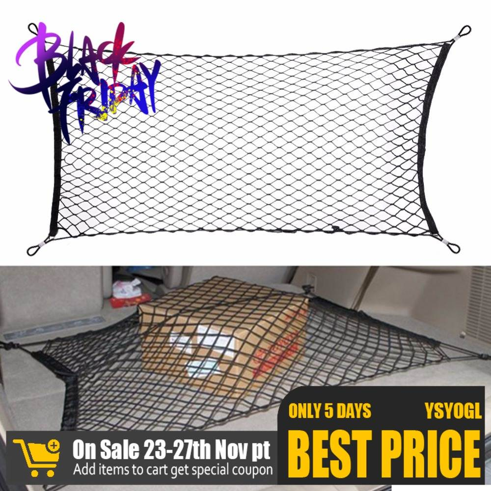 Storage-Organizer Net-Holder Boot-String Mesh Luggage Trunk Auto-Accessory Cargo Elastic