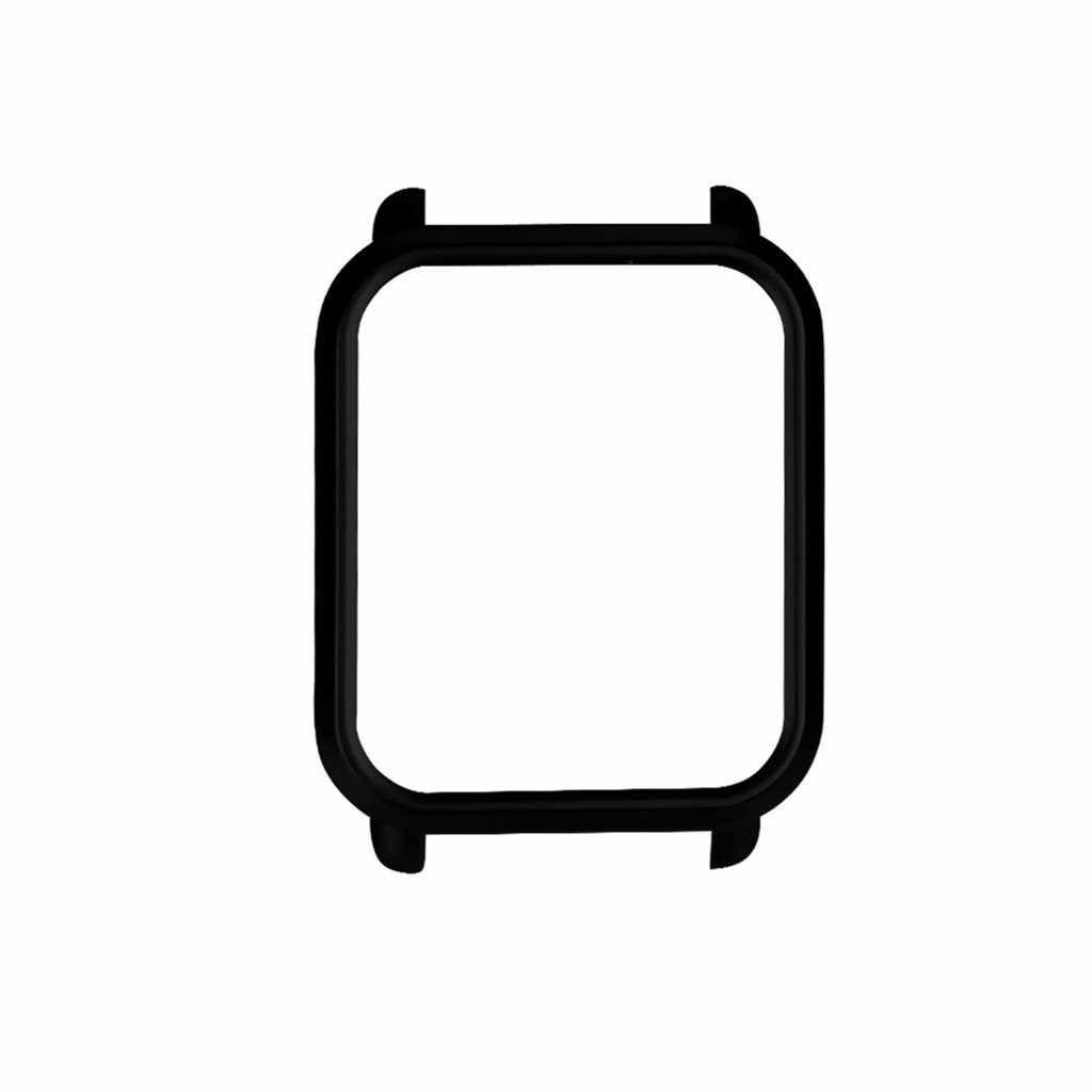 CARPRIE واقي للشاشة إطار ملون نحيف غلاف حماية شل لساعة Huami Amazfit بيب يوث مع واقي للشاشة