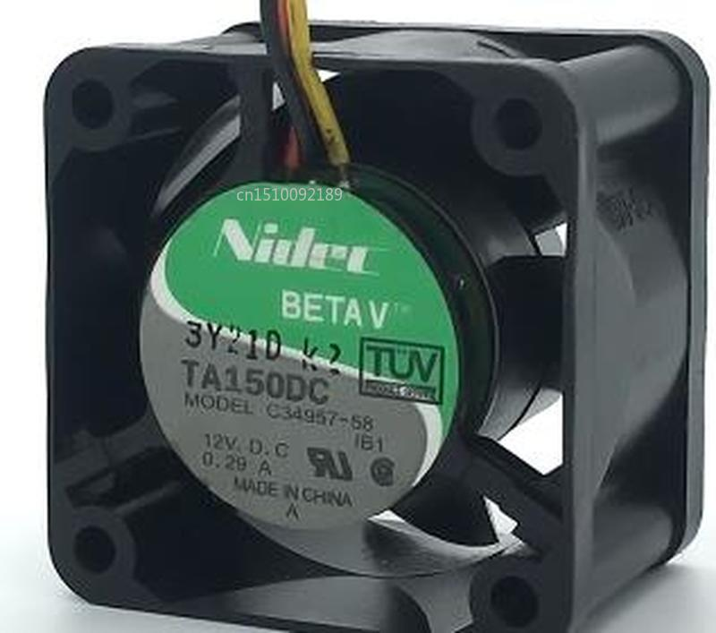 For 4CM/ Cm 12V 0.29A C34957-58 4028 CISCO Switch Fan Free Shipping