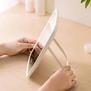 Image 3 - Youpin Led Make Up Spiegel Touch Gevoelige Controle Led Natuurlijke Licht Vulling Verstelbare Helderheid Hoek Lichten Lange Batterij Li