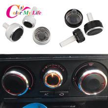 Ar condicionado interruptor de controle calor botão ac para volkswagen vw golf 4 mk4 iv bora passat b5 lupo para skoda octavia mk1