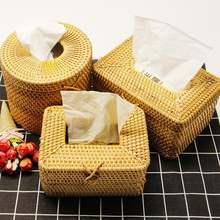 Плетеный тканевый держатель для ванной комнаты ручная работа