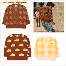 Tc/Детский кардиган; свитера для девочек; одежда маленьких Детские