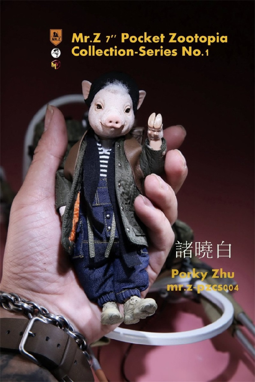 no.1cute animal figura brinquedos modelo wohe ma