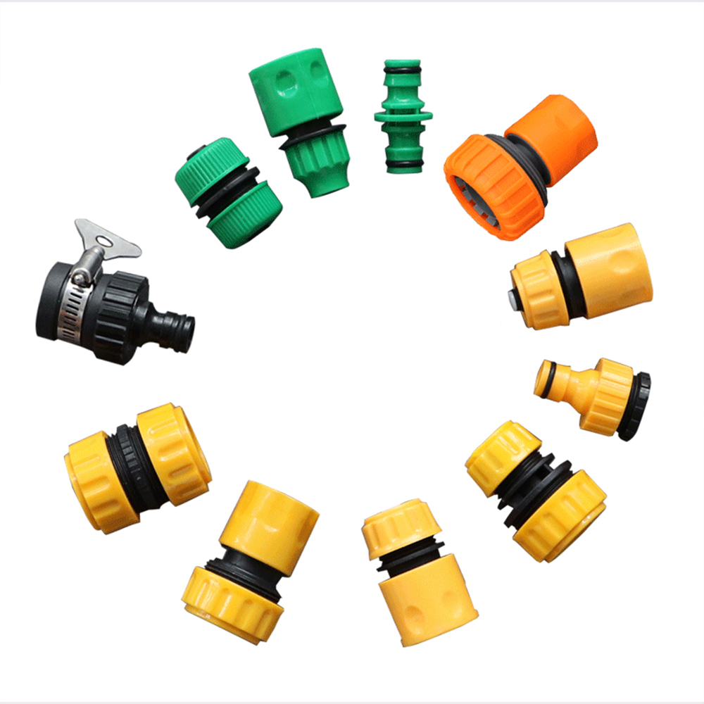 Gardening Accessories Outdoor 3/4 Car Garden Hose Adapter Quick Connect Repair Tubing Connector Tap Connection Tube Fittings 1/2 2