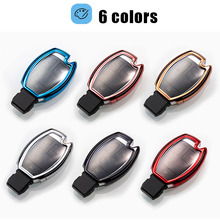 Car accessories TPU Soft  Remote Key Case bag shell Waterproof for MERCEDES BENZ CLS CLA GL R SLK B C S Class