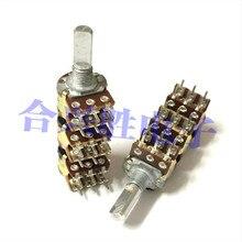 Потенциометр 148, тип шесть, 6 блоков, усилитель B50K, аудио, шесть каналов, громкость длина вала потенциометра 20 мм