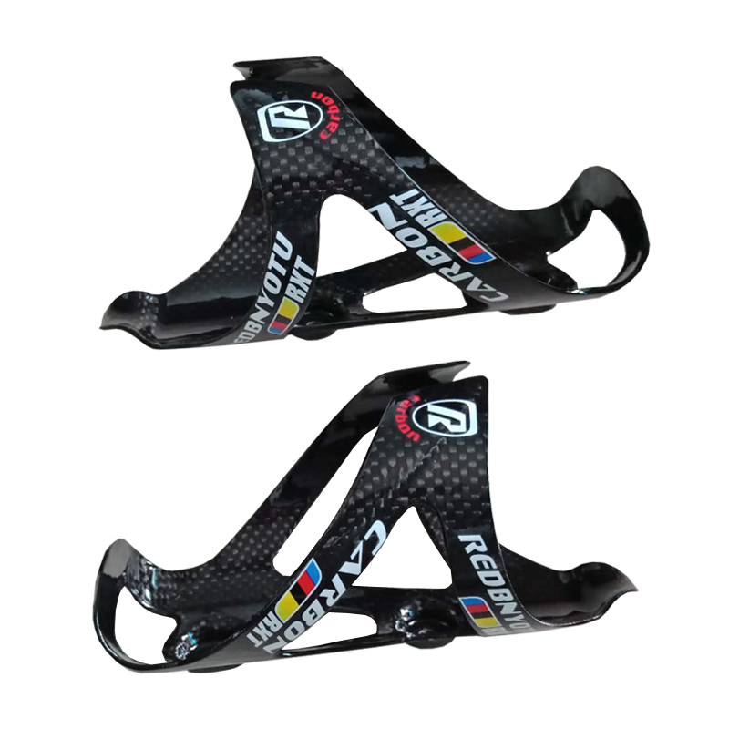 1 Pair 3K Full Carbon Bicycle Bottle Cage MTB Road Bike Water Bottles Cages Hold