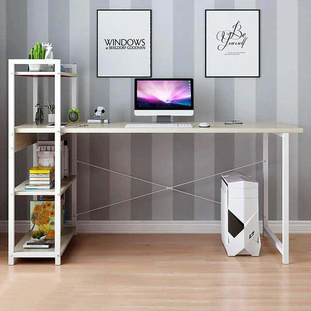 Book Shelf Desk Combo 2