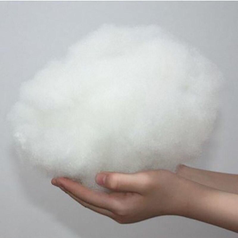 50 g/grup oyuncak dolgu Patchwork yastık dolum bebek dolu pamuk yüksek elastik PP pamuk DIY el yapımı dolması dolgu malzemesi