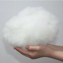 Travesseiro de enchimento de brinquedo 50 g/lote, boneco enchido de algodão de alta elasticidade pp algodão diy feito à mão material de enchimento de pelúcia
