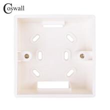 Coswall внешняя Монтажная коробка 86 мм* 86 мм* 33 мм для 86 мм* 86 мм Стандартные переключатели и розетки применяются для любого положения поверхности стены