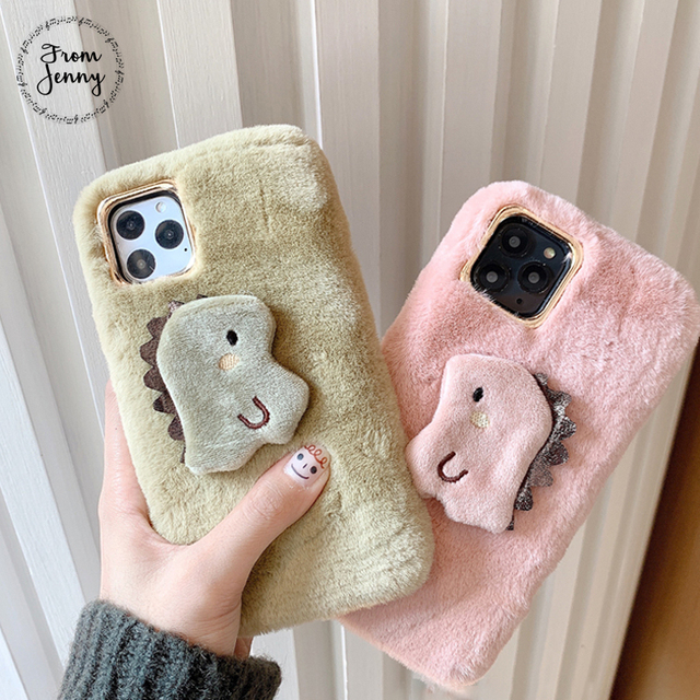 Kawaii Dinosaur Phone Case for iPhone – Limited Edition