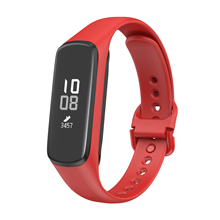 Wristband-Strap Watch-Band Samsuang Galaxy for Sport Silicone Replacement Fit-E