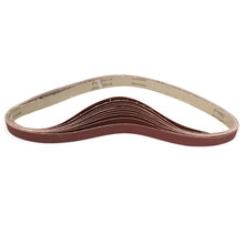 Sanding Belts 150 Grit Sandpaper Self Sharpening Oxide for Sander Polishing Abrasive Strips Dropship(China)