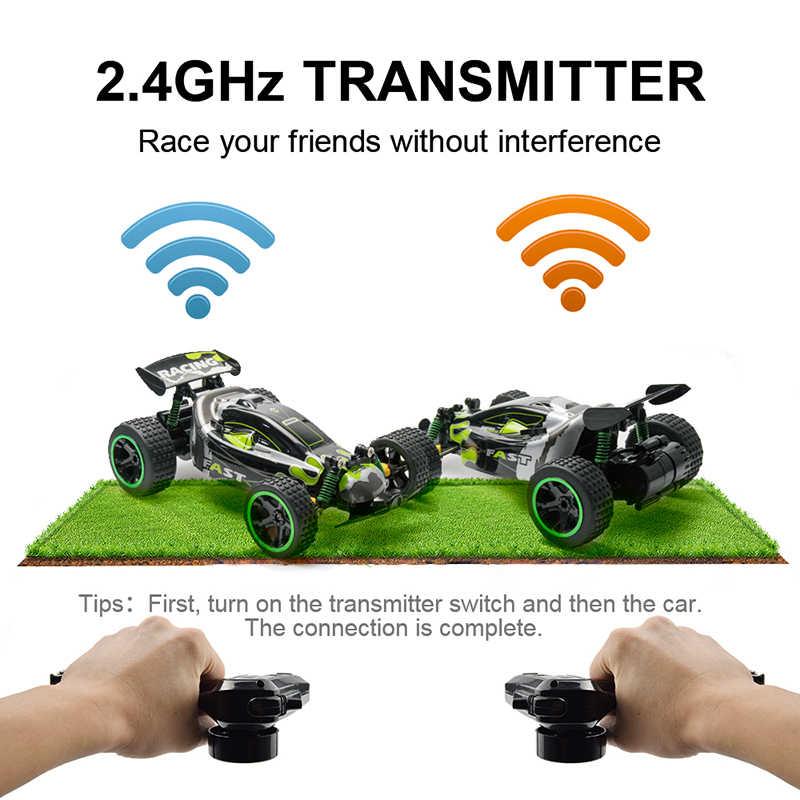 Sinovan RC سيارة 38 km/ساعة عالية السرعة سيارة راديو آلة التحكم 4CH التحكم عن بعد سيارات لعب للأطفال أطفال RC الانجراف wltoys