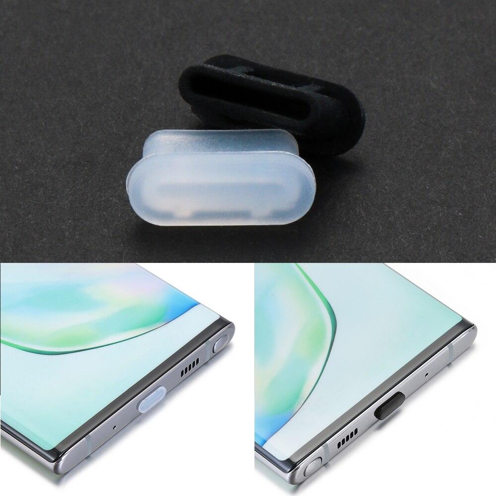 1Pc Silicone type-c Anti poussière prise charge Port protecteur capuchon couverture pour Samsung Huawei Xiaomi téléphone accessoires livraison directe