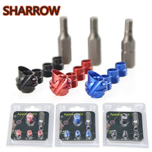 Aluminum-Alloy Compound Bow Target Archery-Accessories Shooting Peep-Sight for 1set 3-Colors