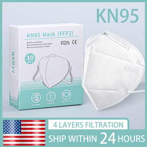 Ship To USA mascarilla kn95mask n95masks facemasks anti 95(China)