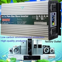 Sine-Wave-Inverter Solar 5000W Power 110V 220V Pure To 48V/60V