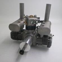 RCGF 31cc 31CCT çift silindirli benzinli/benzinli motor RC uçak için