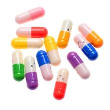 50 шт./партия милые капсулы с выражением любовь таблетки положить в подвеска Бутылка с желанием подарок любовника для пустых сообщений любовь письмо Бумага