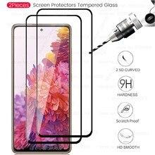 2pcs 9h premium protetor de tela vidro temperado para samsung galaxy s20 fan edition, s20 lite Sm-g781b 6.5 tretretremp safty filme caso