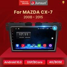 Junsun V1 2G + 32G Android 10.0 araba radyo multimedya oynatıcı navigasyon için Mazda Cx-7 cx7 2008 2009 2010 2011 2012 2013 2014 2015