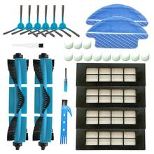 HEPA Filter Accessories Kits For Cecotec Conga 3090 Robot Vacuum Cleaner Main Brush Replacement Parts Side Brush Mop Pad Cloths