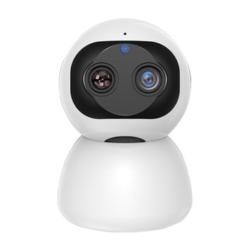 Intelligent Dual-Camera Zoom Network Wireless Wifi Camera Monitoring Remote Home High-Definition Night Vision Monitor