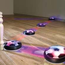 Электрическая цветная светодиодная игрушка для игры в футбол