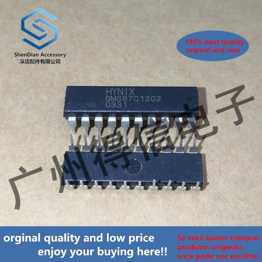 5pcs 100% Orginal New GMS87C1202 Controller IC DIP-20  Real Photo