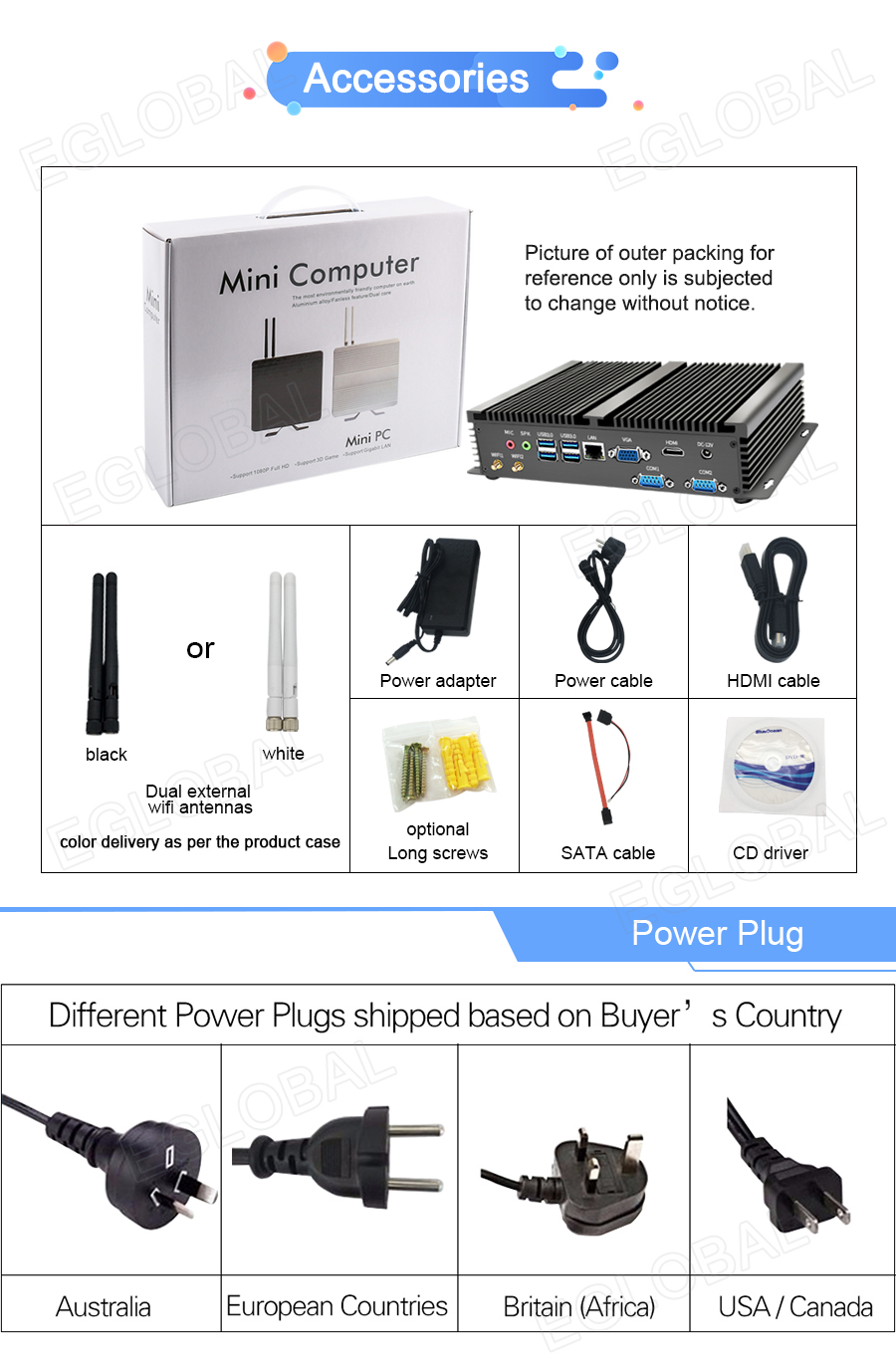 Fanless Industrial Mini PC with HDMI and VGA Dual Display Supports Linux Windows 7/8/10 for Office and Personal Use 16
