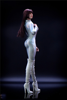 LIFSTOYS 1/6 Scale Sexy Female Figure Accessory Tights Jumpsuit Clothes for 12inch Phicen Big Bust Action Figure Body 1 6 scale female white shirt custom made version women s waist shirt for large bust ph body female action figure