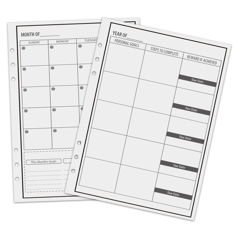 Reusable Planner Notebook Personal Organizer A5 Smart Notebook Erasable Cloud Storage Daily Planner,103 Pages,Black