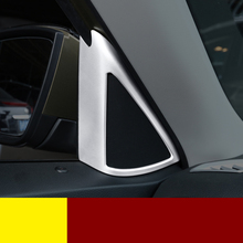 Lsrtw2017 Abs Car Front Door Triangle Sound Frame Trims for Skoda Kodiaq Interior Mouldings Accessories