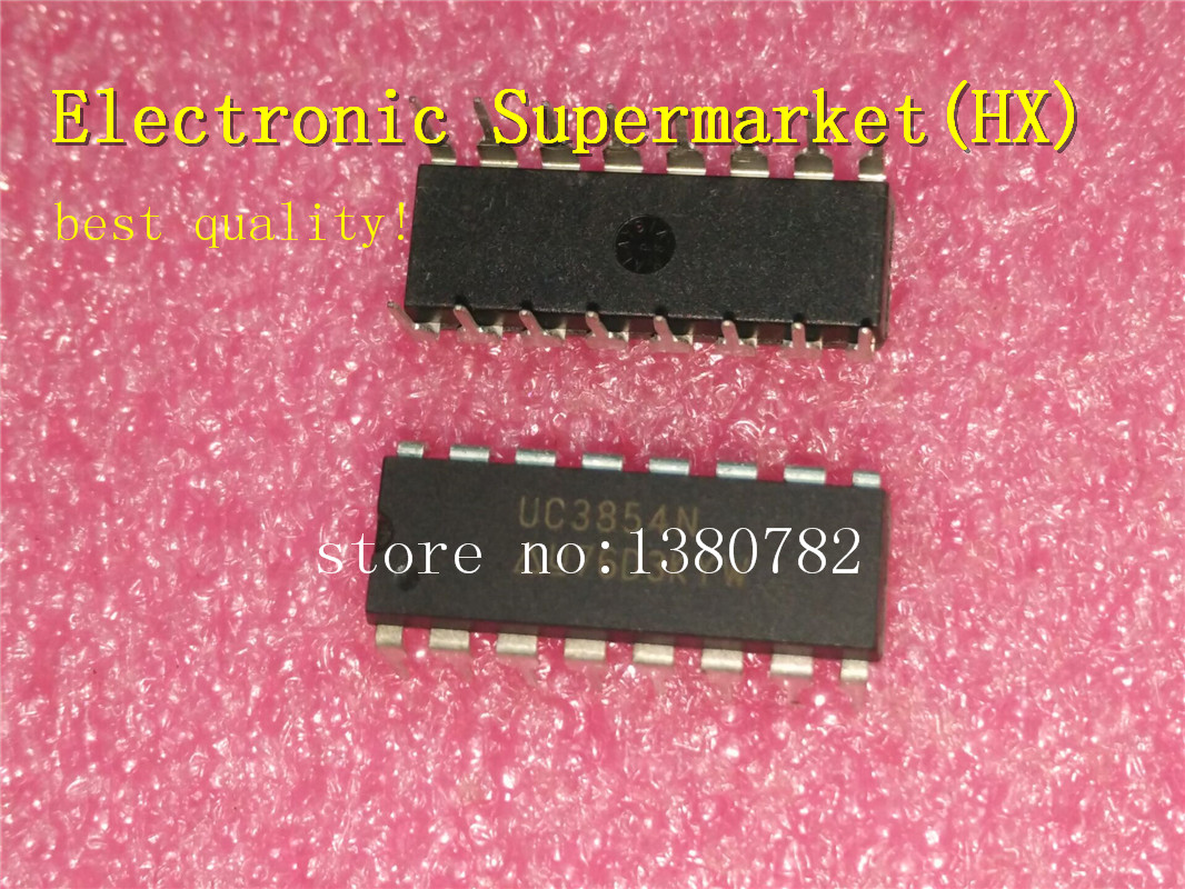 Free Shipping 50pcs lots UC3854N UC3854AN UC3854BN UC3854 DIP 16 In stock in Integrated Circuits from Electronic Components Supplies