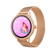 M8 Smart watch Women smart bracelet girl IP68 waterproof Bluetooth 4.0 Heart Rate ladies