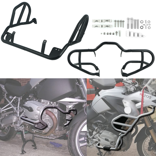 For BMW R 1200 GS R1200GS R1200 2007 2008 2012 Oil cooled Motorcycle Crash Bar Engine Tank Guard Cover Bumper Frame Protector