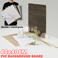 Marbling-Fondo de madera de PVC para estudio de fotografía, tablero de fondo resistente al agua, foto realista para producto