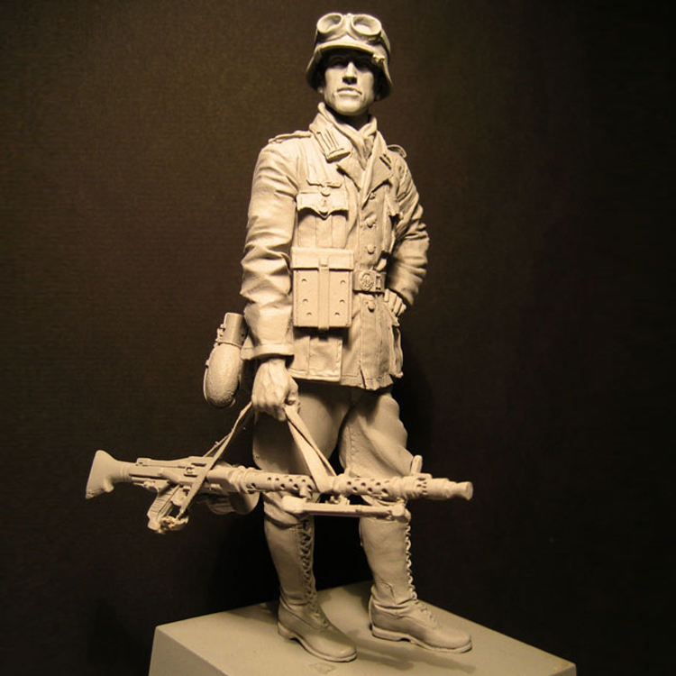 1/16 Resin Model figure Infantry soldiers, Soldier Military theme of WWII Unassembled and unpainted kit