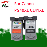 PG40 CL41 Cartridge for Canon PG40XL PG 40XL CL 41 Ink Cartridge for PIXMA iP1800 iP1200 iP1900 iP1600 MX300 MP160 MP140 printer