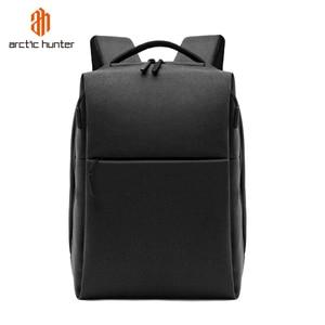Image 1 - ARCTIC HUNTER New USB Laptop Mens Backpack Waterproof Leisure Bag Sport Travel Business Notebook Male Bag Schoolbag Pack