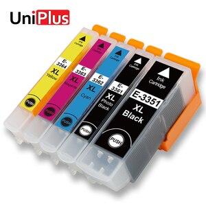 UniPlus 3351 3361 33XL kompatybilny wkładów atramentowych Epson T3351 T3361 XP-530 XP-635 XP-830 XP-900 XP-7100 XP-540 XP-640 645 drukarki