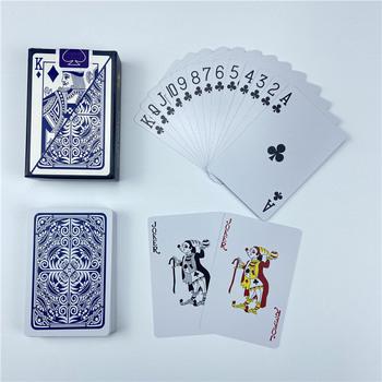1 szt Karty do gry plastikowe karty do gry wodoodporne karty do gry Poker Indoor Family Entertainment gry planszowe gra Baralho tanie i dobre opinie Easytoday CN (pochodzenie) 6 lat 31-60 minut Primary 5735one Normalne Książka Karty plastikowe pokrywa karty 58mm(2 28inch)*88mm(3 46inch)