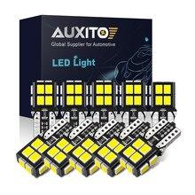 AUXITO 10Pcs T10 W5W Auto Led-lampe Canbus Kein Fehler Auto Lampe für Toyota Avensis CHR Hilux Peugeot 207 3008 307 508 206 sitz Leon