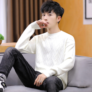2020 Turtleneck men sweater loose long sleeve men's autumn outfit in the fall and winter