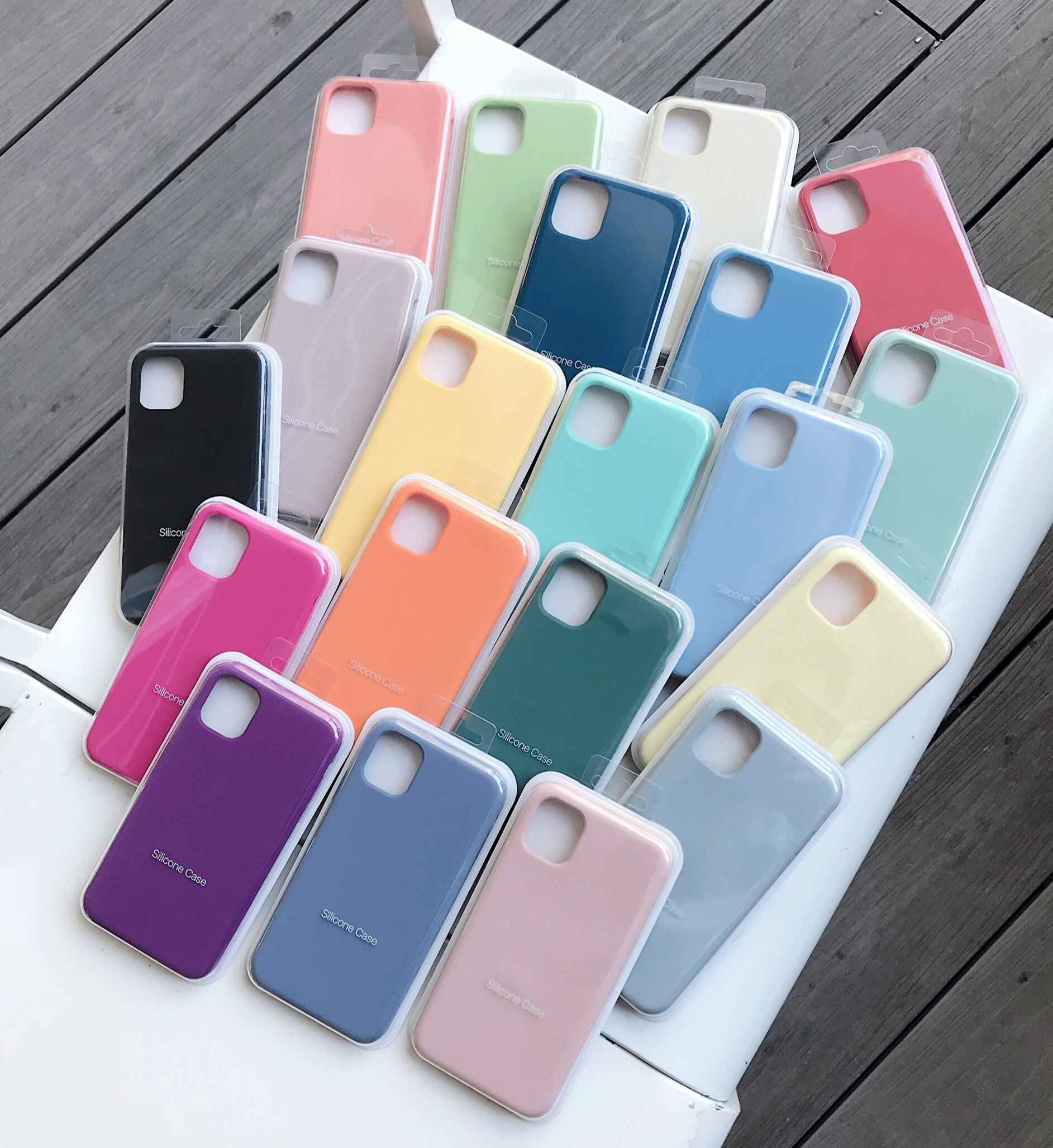 With Box Original Official Liquid Silicone Case For iPhone 12 11 pro XS Max XR X Cases for iPhone 7 8 plus 6 6S SE 2020 12 Pro
