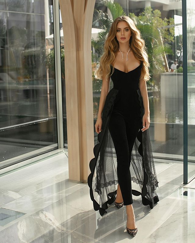 High Quality Black Women Strapless Mesh Rayon Bandage Jumpsuit Sexy Celebrity Party Jumpsuits Vestidos