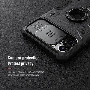 Image 2 - For iPhone 11 Pro Max Case ring phone stand holder NILLKIN Slide Camera Protect Privacy Back Cover for iPhone 11 Pro case